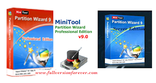 Download MiniTool Partition Wizard Server Edition v9 with Boot media Builder Serial key 2015