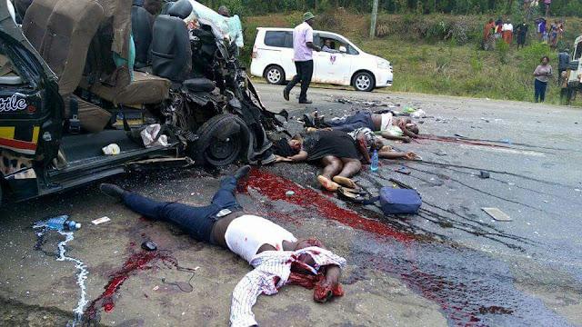 WAMBURA BABU BLOG KENYA 4 Dead 11 Injured In Grisly Road
