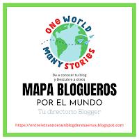 Mapa blogueros por el mundo