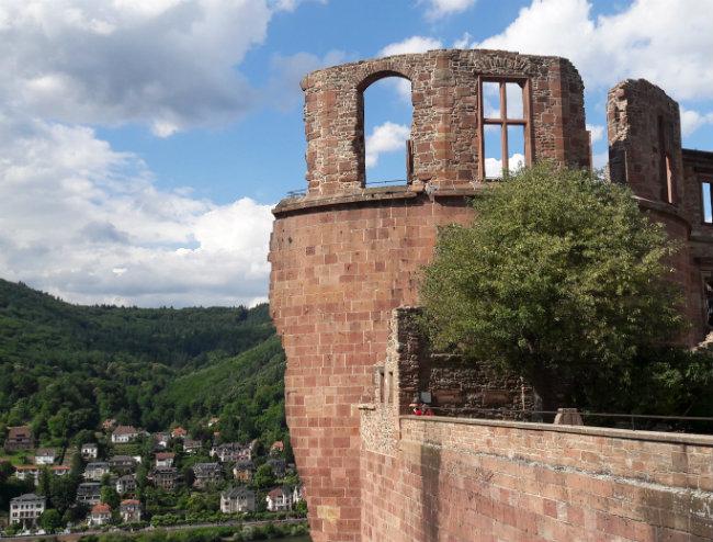 Travel guide Heidelberg, Germany: Heidelberg Castle | Happy in Red