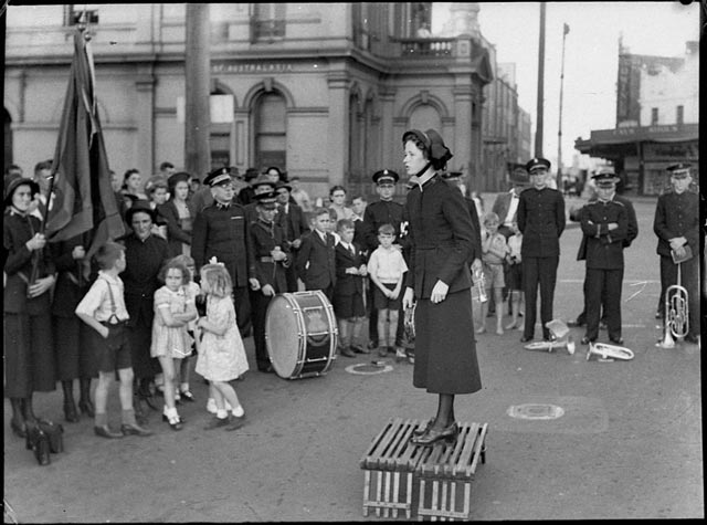 Salvation Army in Australia, 15 March 1942 worldwartwo.filminspector.com