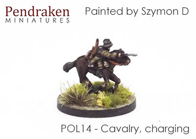 POL14 Cavalry, charging