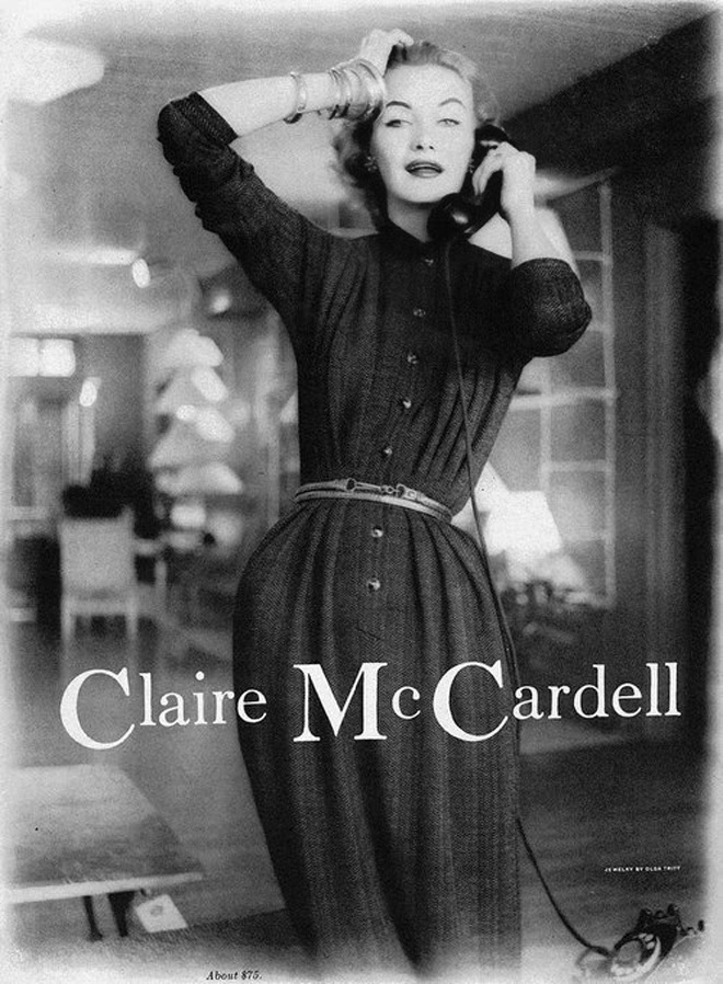 Claire McCardell   women's fashion trend