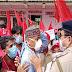 অনুমতি ছাড়া বিক্ষোভ প্রদর্শন করায়  গ্ৰেফতার সিপিআইএম কর্মী সমর্থক - Sabuj Tripura News