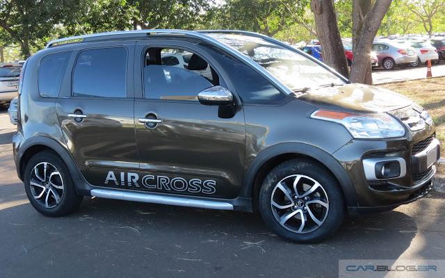 citroen aircross exclusive flex consumo e ficha t cnica car blog br. Black Bedroom Furniture Sets. Home Design Ideas