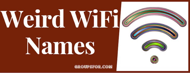 weird wifi names