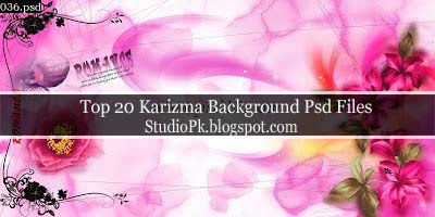 Karizma Backgrounds Psd Files