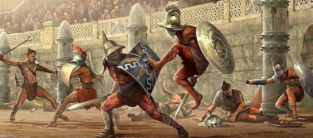 Revolta de Espártaco Gladiador da Roma Antiga