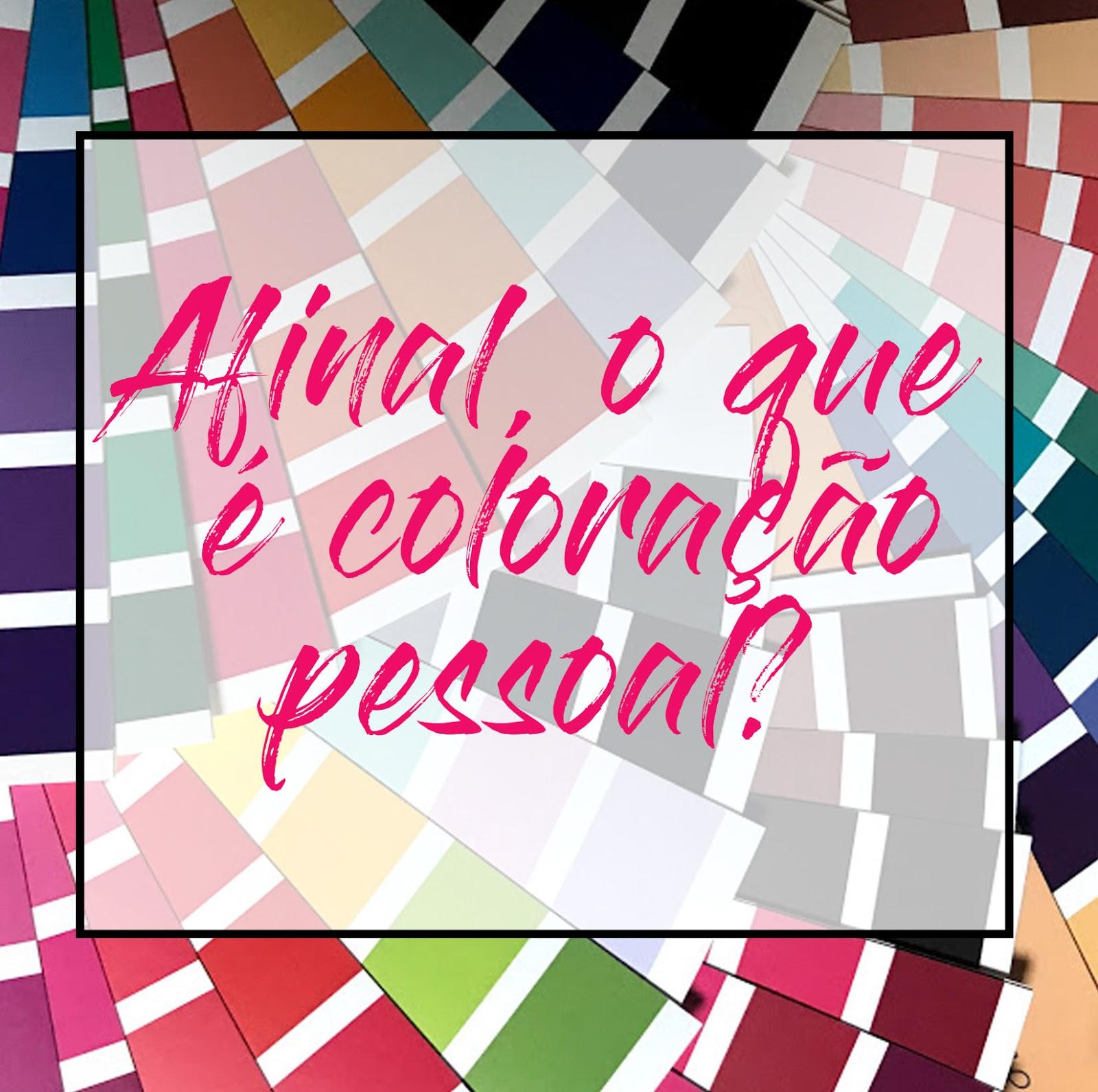 O que é coloração pessoal?