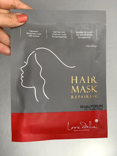 Love Edellis Hair Mask Saç Maskesi limonian