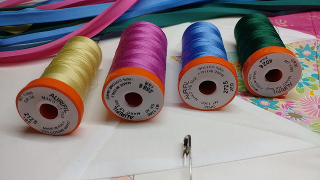 Aurifil thread colors