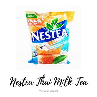oleh-oleh makanan ringan khas thailand - nestea thai tea