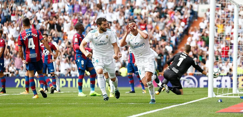 مباراة ريال مدريد وليفانتي الدوري الاسباني