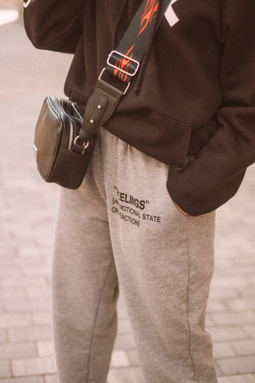 JustFashionNow casual sweatpants in grey