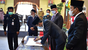 DPRD Kab. Lampung Timur Tetapkan Paslon Bupati dan Wakil Bupati Terpilih