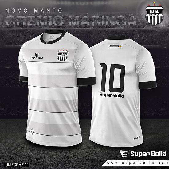b407ff78dfbae Super Bolla lança camisas do Grêmio Maringá - Show de Camisas