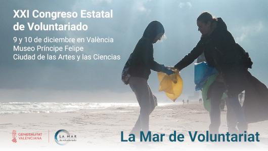 Igualdad organiza la XXI edición del Congreso Estatal del Voluntariado en València