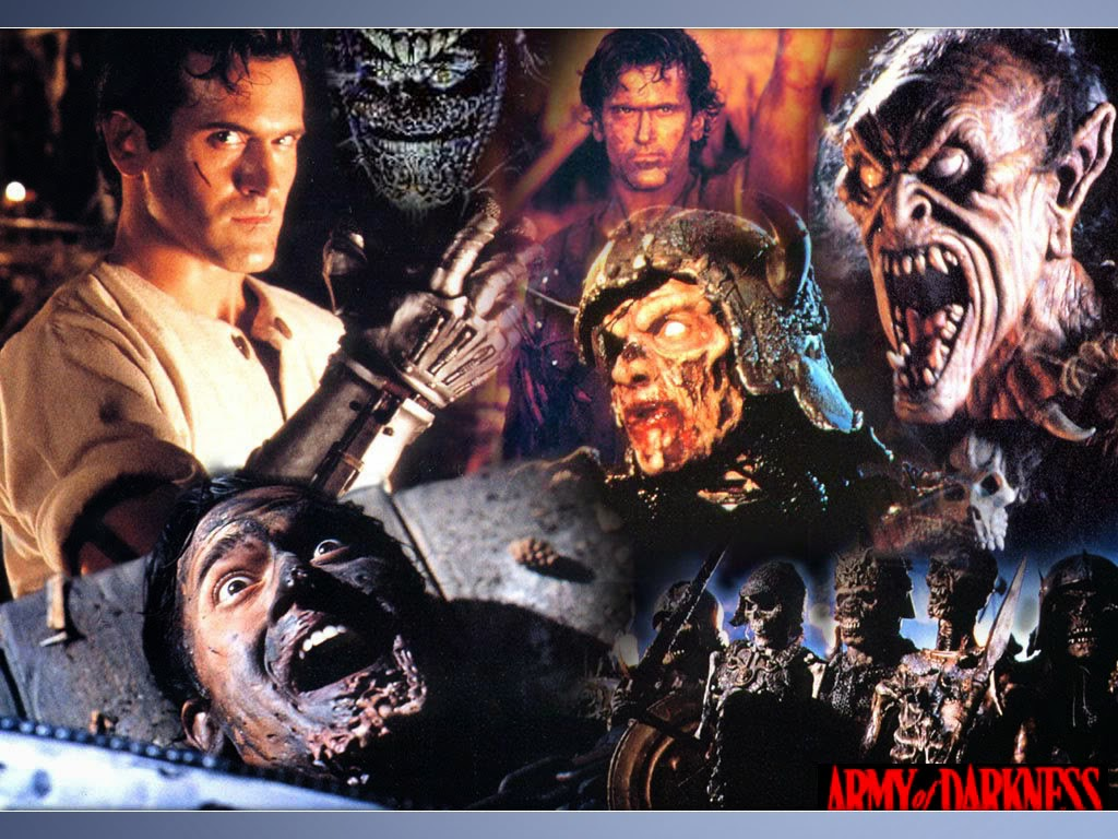 horror film Army of Darkness characters
