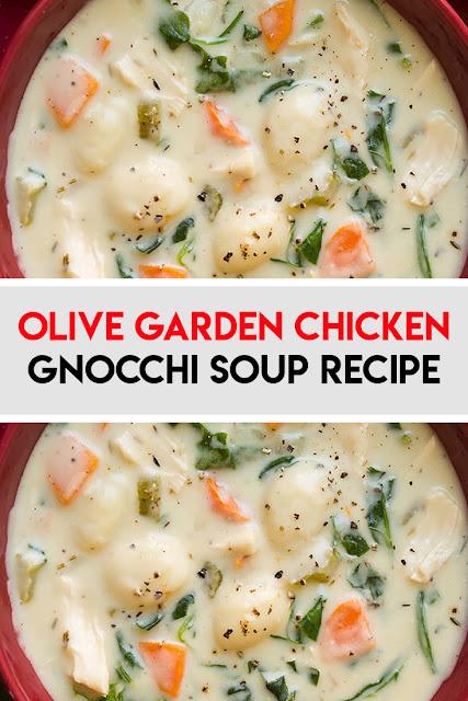 Olive Garden Chicken Gnocchi Soup Recipe Recipes