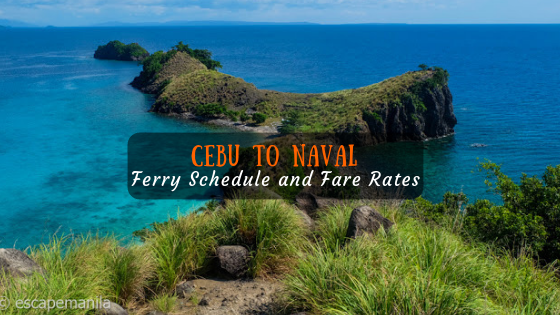 Cebu to Naval 2019 Boat Schedule and Fare Rates