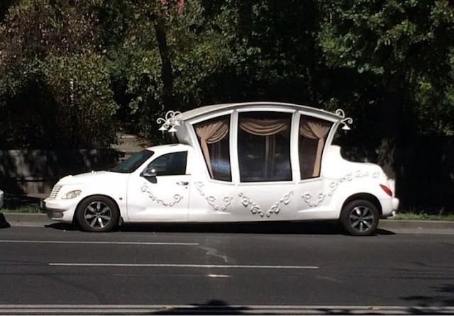O carro da Cinderela