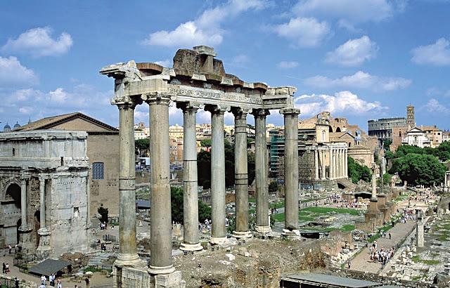 Roman Forum rome , italy