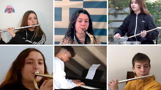"""Μαθητές από το Ναύπλιο μας εισάγουν στη Μ. Εβδομάδα με το """"Αι γενεαί πάσαι"""" (βίντεο)"""