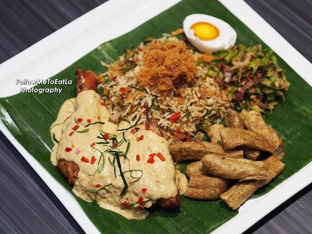 Nyonya Nasi Ulam with Ayam Percik RM 25.90