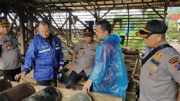 Tambang Ilegal Diduga Jadi Biang Kerok Banjir di Wilayah Ini, Polisi Lakukan Penyegelan