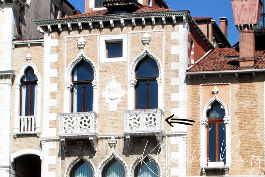 Weneckie ciekawostki.  Pałac Desdemony