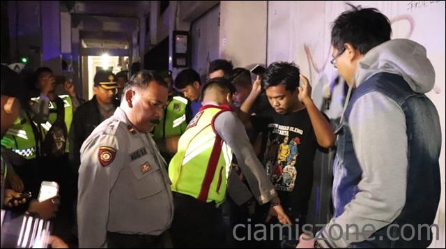 Malam Tahun Baru Hijriah, Empat Warga Cipaku Diciduk Patroli Biru