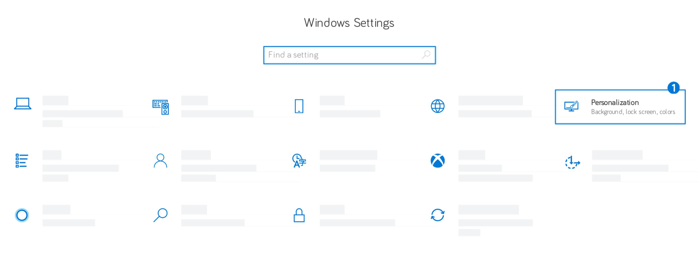 Windows - Windows Settings