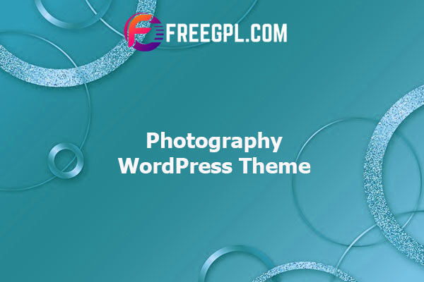 Photography – Responsive Photography WordPress Theme Nulled Download Free