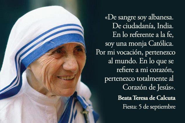 Mujer Plus Madre Teresa De Calcuta Sabia Mujer