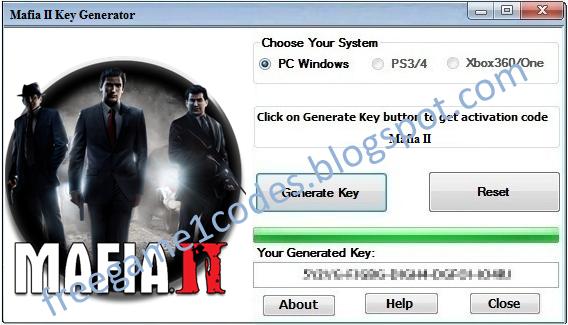 mafia 2 keygen serial key generator