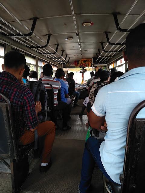 autobus, Sri Lanka