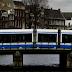 In tram ad Amsterdam