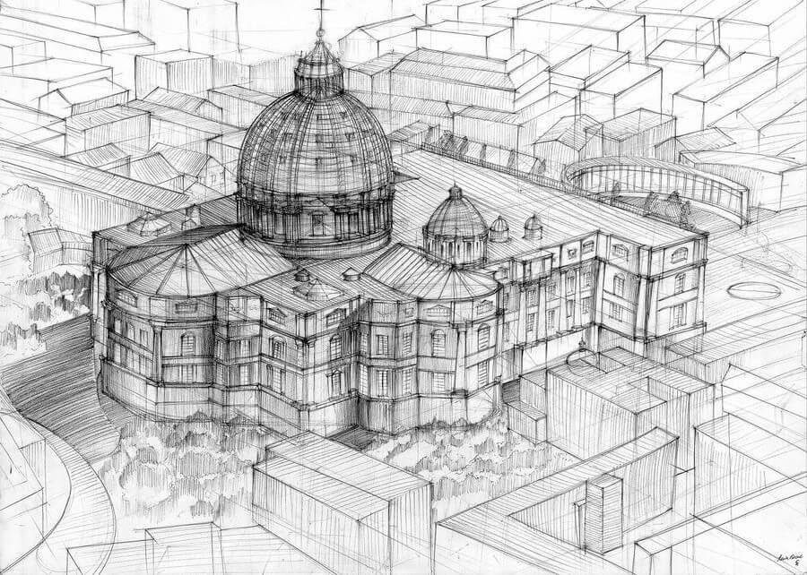 02-Galeria-Gdańsk-Gdańsk-Architectural-Drawings-by-Students-www-designstack-co
