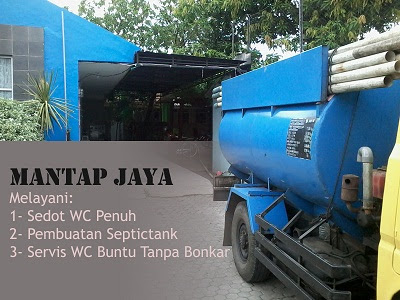 Jasa Sedot Tinja di area Wonokusumo Surabaya