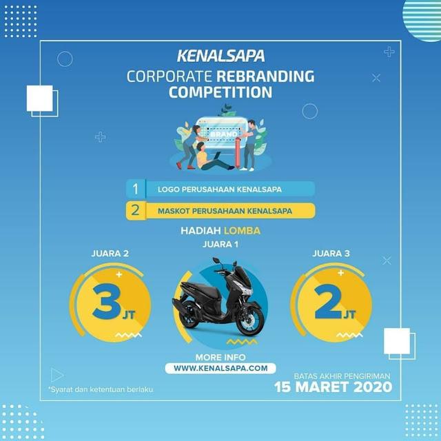 Corporate Rebranding Competition Diisi Dengan Berbagai Lomba Total Hadiah 120 Juta