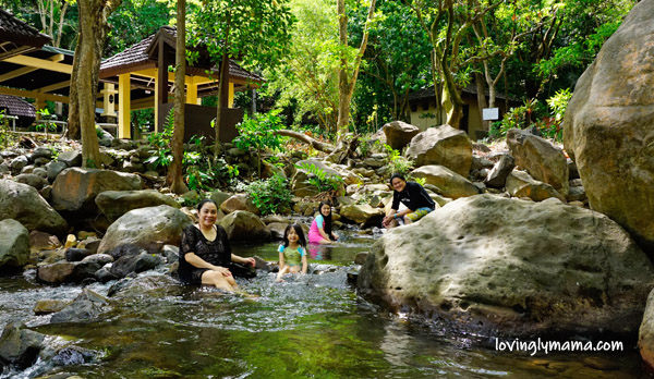 Negros Occidental tourist attractions  - Negros Occidental tourist destinations - Mambukal Resort - Mambukal Mountain Resort - river - volcanic rocks - family trip - field trip - homeschooling in Bacolod - Bacolod blogger