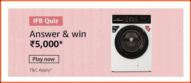 Amazon quiz 2020