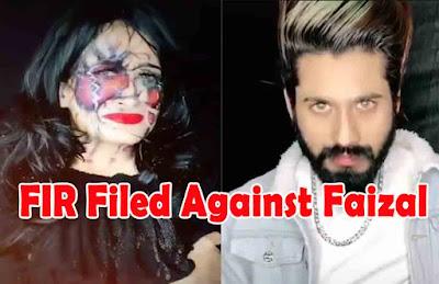 fir filed agains faizal siddiqui due to acid attack video