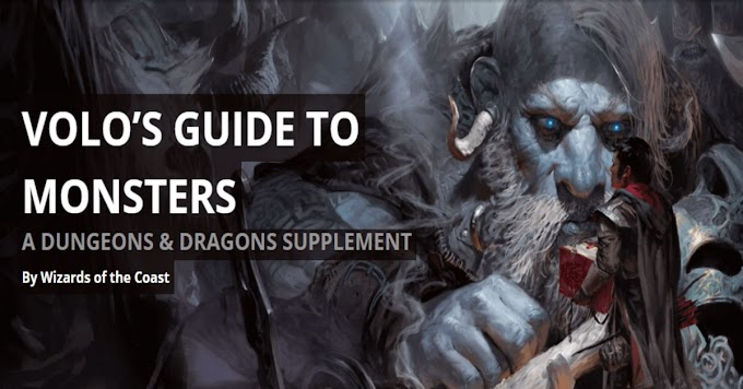 Volo's Guide to Monster PDF Free Download - Google Drive Link 2021