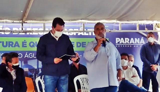 Governador Ratinho Júnior anuncia 140 casas para Iretama