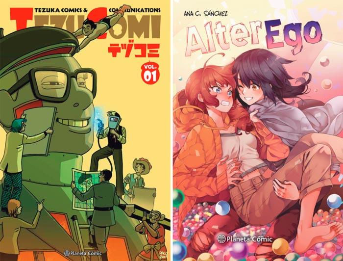 Novedades Planeta Comic marzo 2021: Tezucomi y Alter Ego