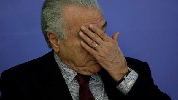 Temer admite que condición de los presos en Brasil es inhumana