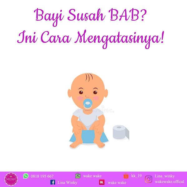 Bayi susah BAB? Ini Cara Mengatasinya!