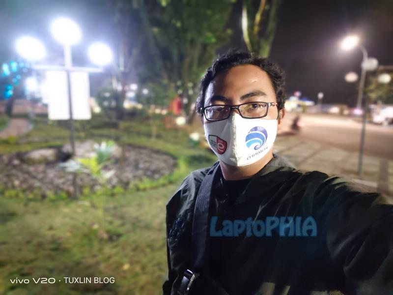 Hasil Foto Kamera Depan Vivo V20 2021