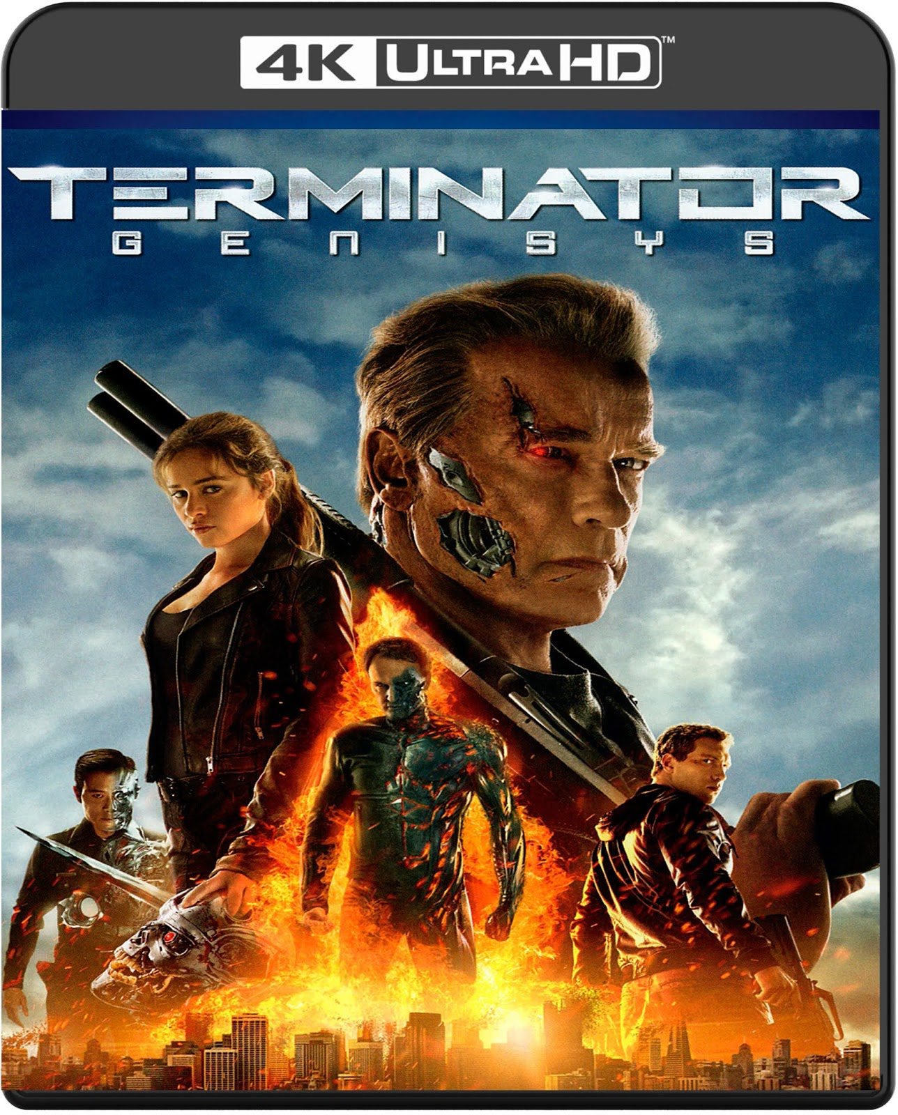 Terminator Genisys [2015] [UHD] [2160p] [Latino]